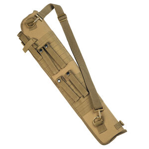 Red Rock Gear MOLLE Shotgun Scabbard MOLLE Webbing Padded 600D Polyester Coyote