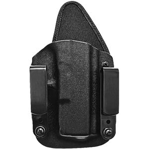 Tagua Gunleather Armament The Recruiter GLOCK 26/27/23 Holster Right Handed Kydex Black