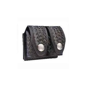 HKS Medium Speedloader Carry Case Dupont Hytrel Basketweave Black 203MBB
