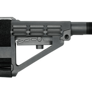 SB Tactical Five Position Adjustable Brace Black With Six Position Mil-Spec Carbine Ext
