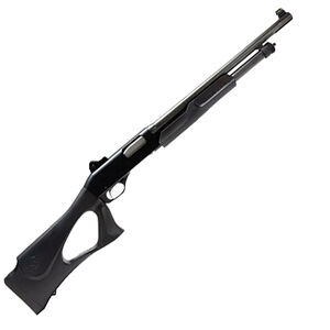 """Stevens 320 Security 12 Gauge Pump Action Shotgun 18.5"""" Barrel 3"""" Chamber 5 Rounds F/O Ghost Ring Sights Synthetic Thumb Hole Stock Black Finish"""