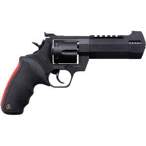 "Taurus Raging Hunter .44 Mag DA/SA Revolver 5.125 "" Ported Barrel 6 Rounds Adjustable Rear Sight Picatinny Top Rail Rubber Grip Matte Black"