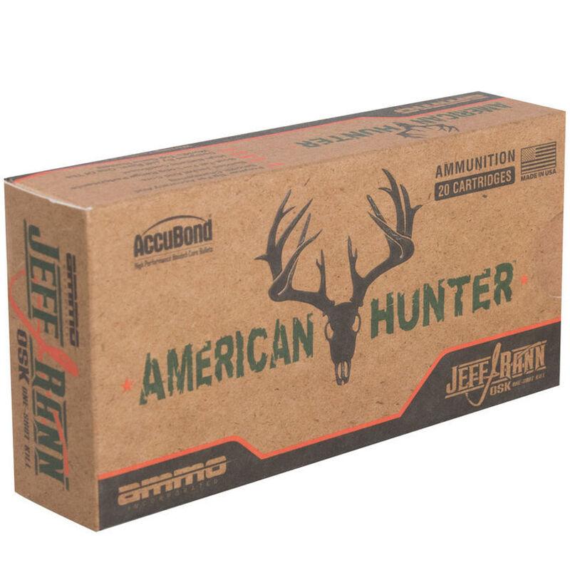 Ammo Inc. American Hunter .300 Winchester Magnum 180 Grains AccuBond-Match Grade 20 Rounds 300WM1800AB