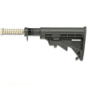 Tapco INTRAFUSE T6 AR-15 Mil-Spec Complete Stock Assembly Kit Polymer Black 16763