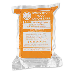 Ultimate Survival Technologies Emergency Food Rations Bar 6 Servings 20-02020-06