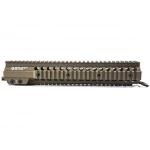 """Geissele AR-15 Super Modular Rail Mk7 National Match 12.7"""" Aluminum Desert Dirt 05-395S"""