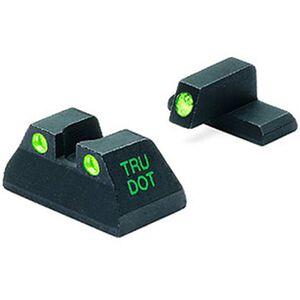 Meprolight Tru-Dot Fixed Night Sights H&K USP Fullsize Green/Green Steel 11516
