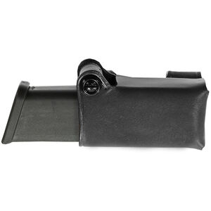 Galco HMC Horizontal Magazine Carrier Double Stack 9mm 40 S&W, Black Leather