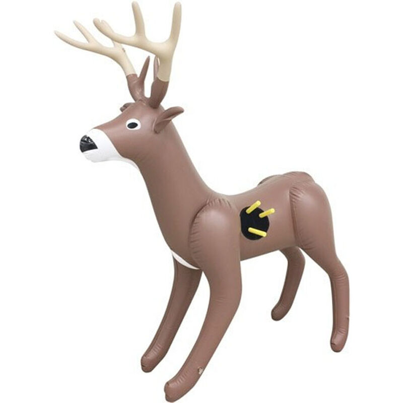 "NXT Generation Toys 3 D Deer Target 48"" Tall Inflatable Brown"