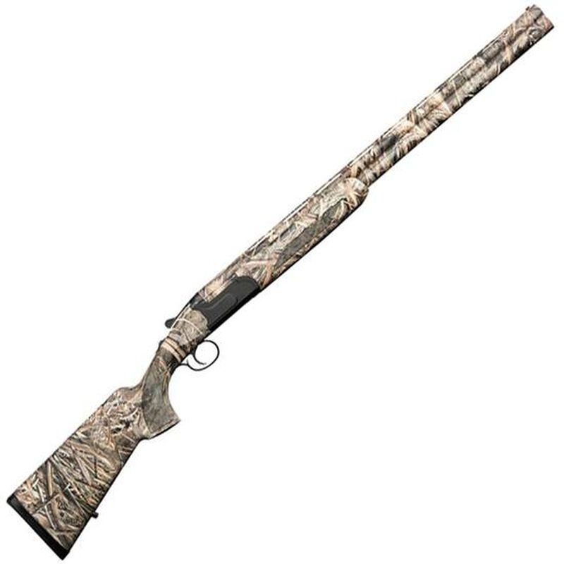 """Charles Daly 214E Maxi-Mag Field 12 Gauge O/U Break Action Shotgun 28"""" Barrels 3.5"""" Chambers 2 Rounds Ejectors Synthetic Stock RT Max-5 Camo"""