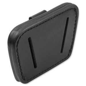 Personal Security Products Leather Belt Slide Holster Fits Small to Medium Frame Auto Handguns Black 036BLK