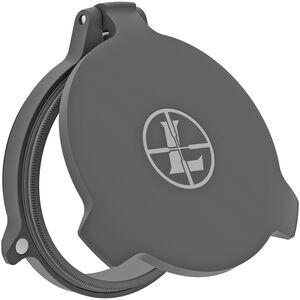 Leupold Alumina Flip-Back Lens Cover  Fits 44mm Objective Lens Flip Up Scope Cap Aluminum Black