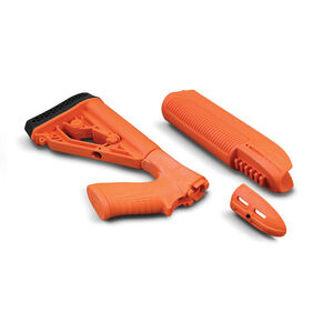EX Stock & Forend - Rem 870, 12g - Less Lethal Orange