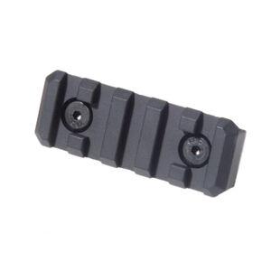 """Troy Industries QARS Rail Section 3.2"""" Aluminum Black SRAI-TRX-P3BT-00"""