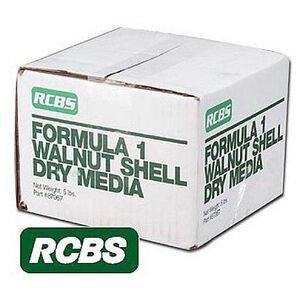 RCBS Formula 1 Walnut Shell Tumbler Media 5lbs 87067