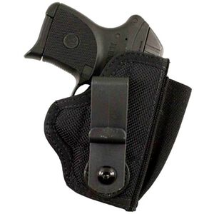 DeSantis Gunhide Tuck-This II Ruger LC9, SIG Sauer P290 Tuckable Inside the Waistband Holster Ambidextrous Nylon Black M24BJU2Z0