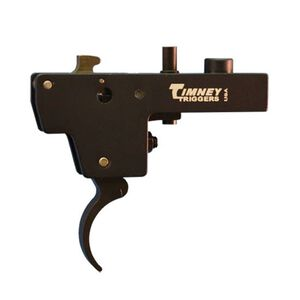 Timney Trigger for Weatherby Mark V American Adjustable from 1.5 LBS to 4 LBS with 3 LB Default Aluminum Black 651