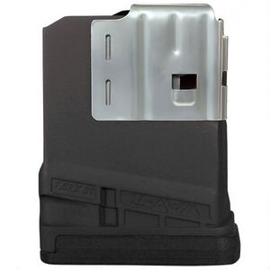 Lancer L7 Advanced Warfighter Magazine .308 Win/7.62 NATO 5 Rounds Polymer Opaque Black L7-5-BLK