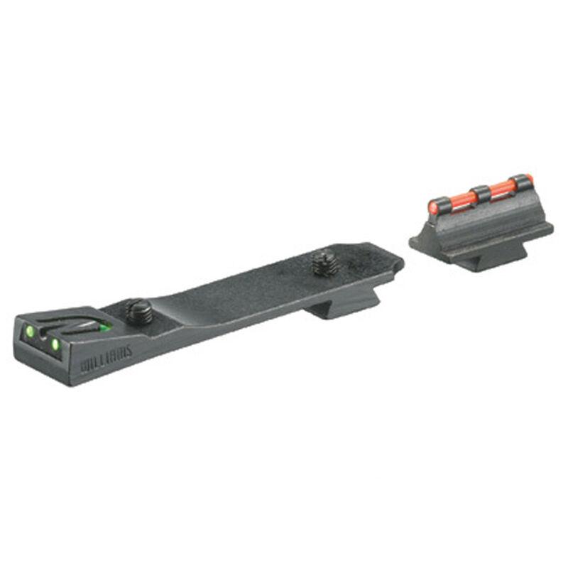 Ruger 10/22 Fiber Optic Sight Set Fiber Optic Front/Rear Matte Black Finish