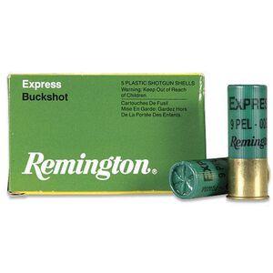 "Remington 12 Gauge Ammunition 5 Rounds 2.75"" 9 Pellets #00 Buckshot"