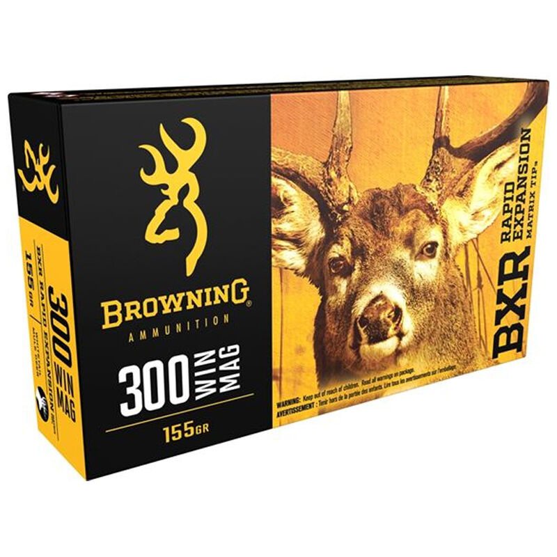 Browning BXR .300 WSM Ammunition 20 Rounds BXR 155 Grains B192130001