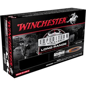 Winchester Expedition .30-06 Springfield Ammunition 20 Rounds Accubond 190 Grains S3006LR