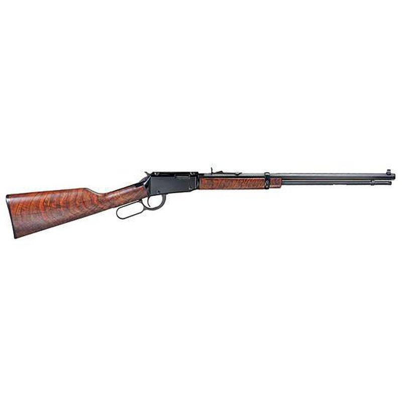"Henry Repeating Arms Octagon Model H001TV Lever Action Rimfire Rifle .17 HMR 20"" Octagon Barrel 11 Rounds American Walnut Stock Blued Finish"