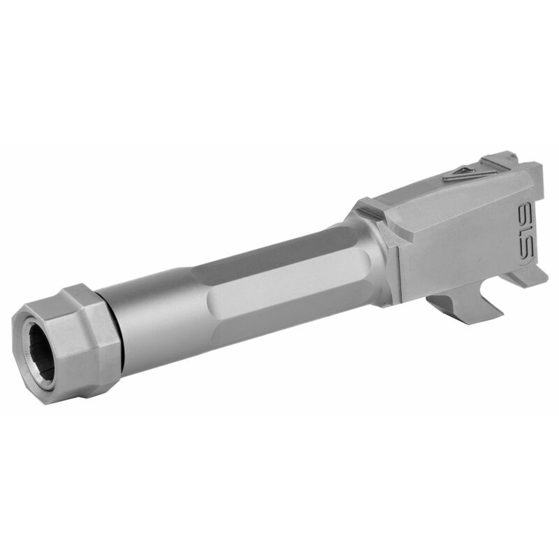 Agency Arms Premier Line S&W M&P9 Shield Threaded Match Grade Drop-In Barrel, 416R Stainless Steel