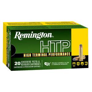 Remington HTP .38 Special +P Ammunition 20 Rounds 158 Grain LHP 890 fps