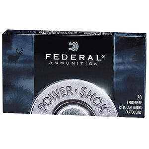 Federal Power-Shok .270 WSM 130 Grain JSP 20 Round Box
