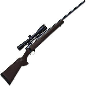 """Legacy Sports International Howa GameKing Package Bolt Action Rifle .300 Win Mag 24"""" Barrel 4 Rounds Hogue Synthetic Stock Nikko Stirling 3.5-10x44 LRX AO Scope Black HGK63307"""