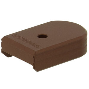 UTG PRO +0 Base Pad, CZ P07/P10C, Matte Bronze Aluminum