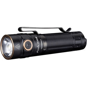 Fenix E30R Tactical EDC Flashlight Compact 1600 Lumen Rechargeable 18650 Battery Aluminum Black