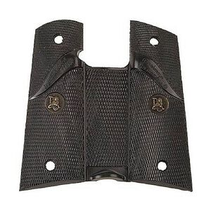 Pachmayr Signature Grip 1911 Full Size Checkered Rubber Black 02919