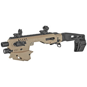 CAA Micro Roni Advanced Conversion Kit Fits SIG P320 Chassis Pistol Brace Polymer FDE CAA MCKSIGTA