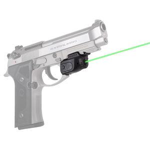 LaserMax Lightning Universal Rail Mounted Green Laser With GripSense Technology Matte Black Housing