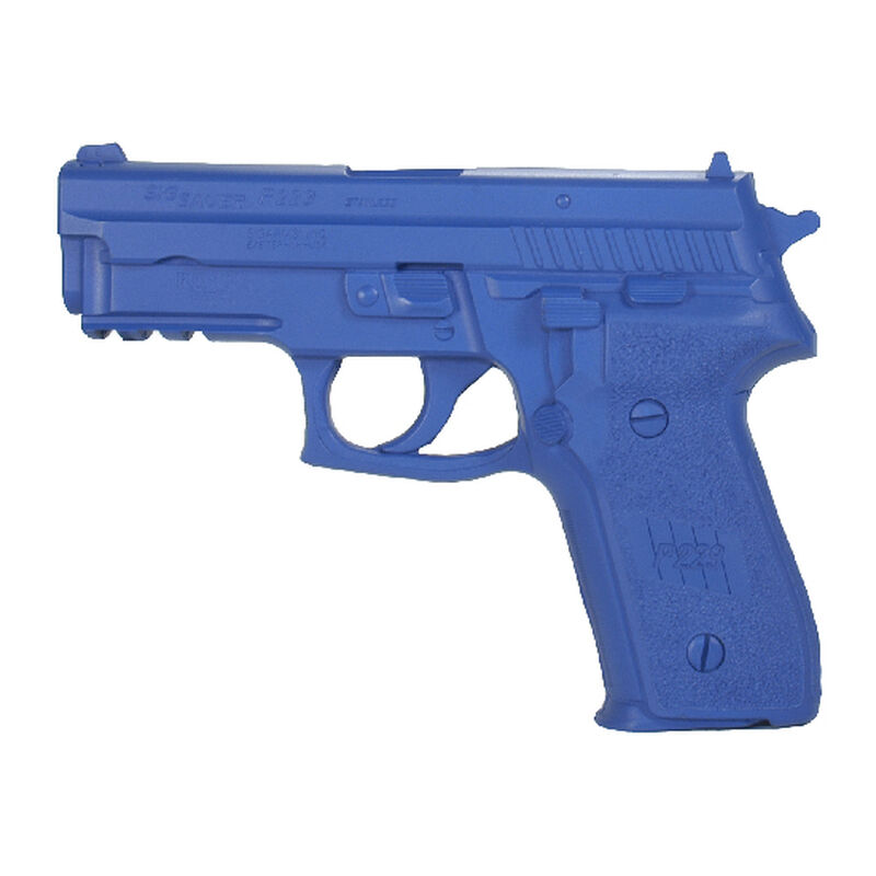 Rings Manufacturing BLUEGUNS SIG Sauer P229R Handgun Replica Non-Weighted Training Aid Blue