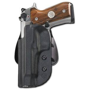 Beretta Civilian Ghost 92FS/96 Series Pistols Belt/Paddle Holster Polymer Left Hand Black