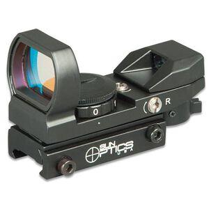 Sun Optics Reflex Sight 4 Red/Green Reticles 23X33mm Aperture CD13-RRG