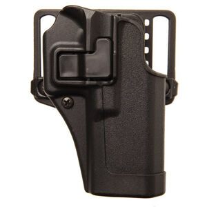 "BLACKHAWK! SERPA CQC Concealment OWB Paddle/Belt Loop Holster Taurus Judge with 2.5"" Cylinder Right Hand Polymer Matte Black Finish"