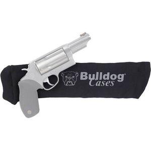 "Bulldog Cases Gun Sock Handgun 14""x4"" Cotton Knit Black"