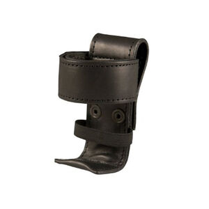 Boston Leather Deluxe Radio Holder Adjustable Leather Plain Black 5486-1