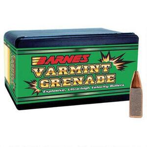 Barnes .223 Caliber Bullet 250 Projectiles Varmint Grenade 50 Grain