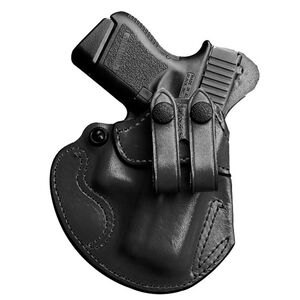DeSantis Cozy Partner IWB Holster S&W M&P Shield .45 Right Hand Leather Black 028BA5EZ0