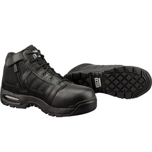 "Original S.W.A.T. Metro Air 5"" SZ Safety Men's Boot Size 11.5 Regular Non-Marking Sole Leather/Nylon Black 126101-115"