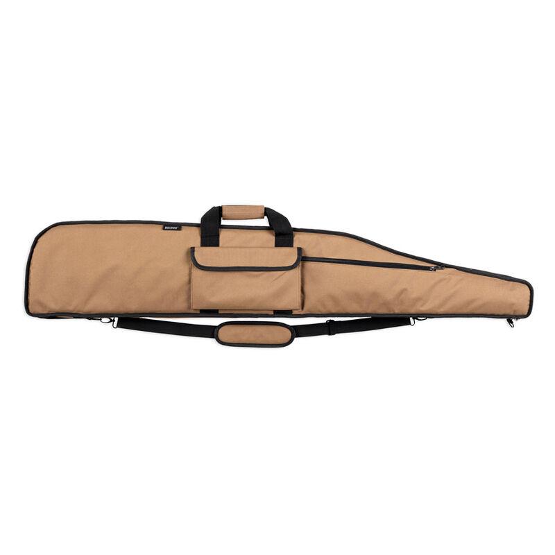 "Bulldog Cases Deluxe Long Range Series 55"" Rifle Case Tan With Black Trim BD375"