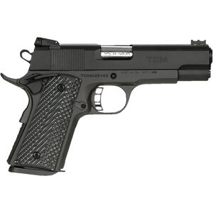 "Rock Island Armory Rock Ultra CCO .22 TCM9R/9mm Luger Combo 1911 Semi Auto Handgun 4.25"" Barrel 8 Rounds Steel Frame G10 Grips Black"