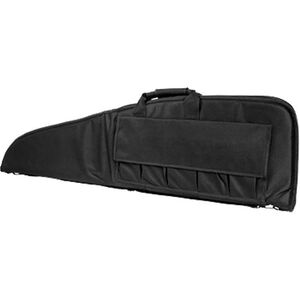 """NcSTAR Rifle Case 46"""" Padded Synthetic Fabric Black"""