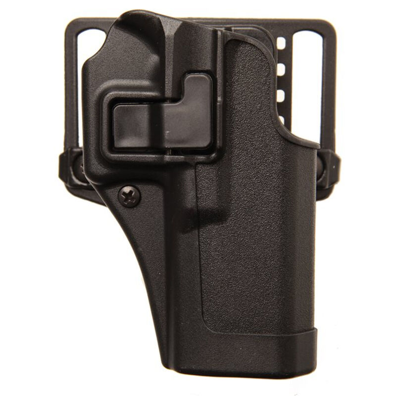 BLACKHAWK! SERPA CQC Belt/Paddle Holster For GLOCK 20/21/37 And S&W M&P  Right Hand Polymer Black 410502BK-R