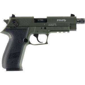 "GSG Firefly .22 LR Semi Auto Pistol 10 Rounds 4"" Threaded Barrel Polymer Frame OD Green"